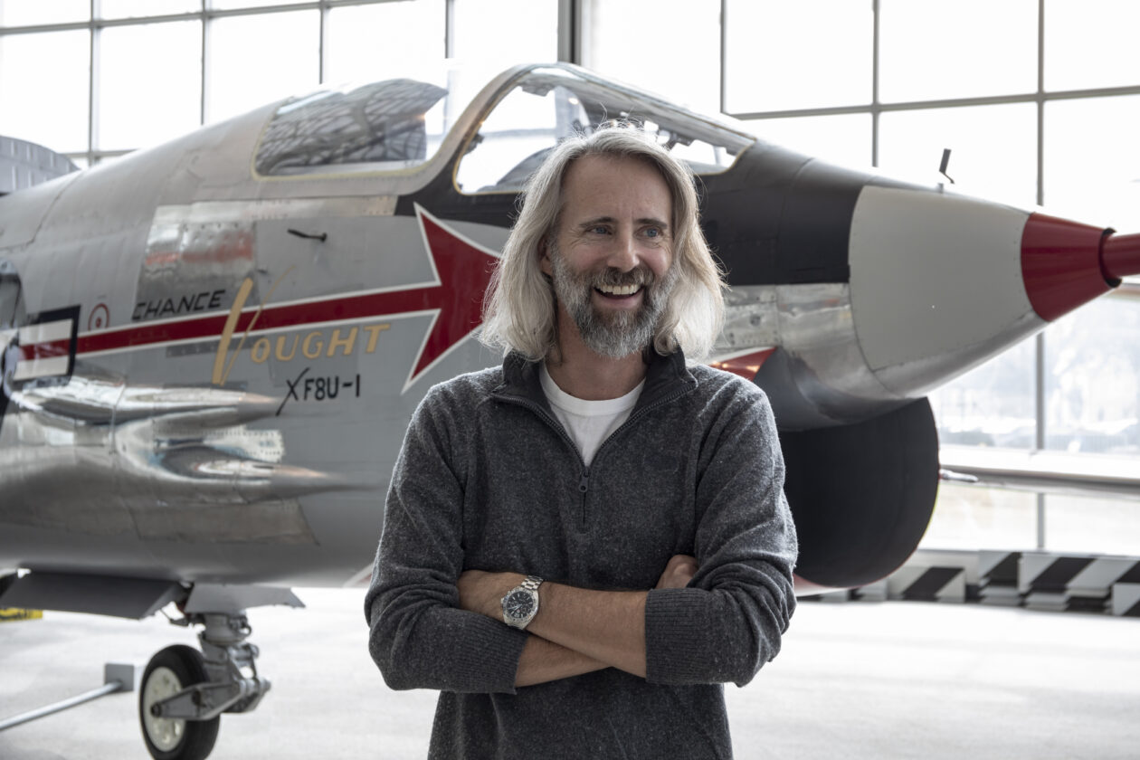 Geek of the Week: Matthew Burchette is flying high as Museum of Flight's new senior curator