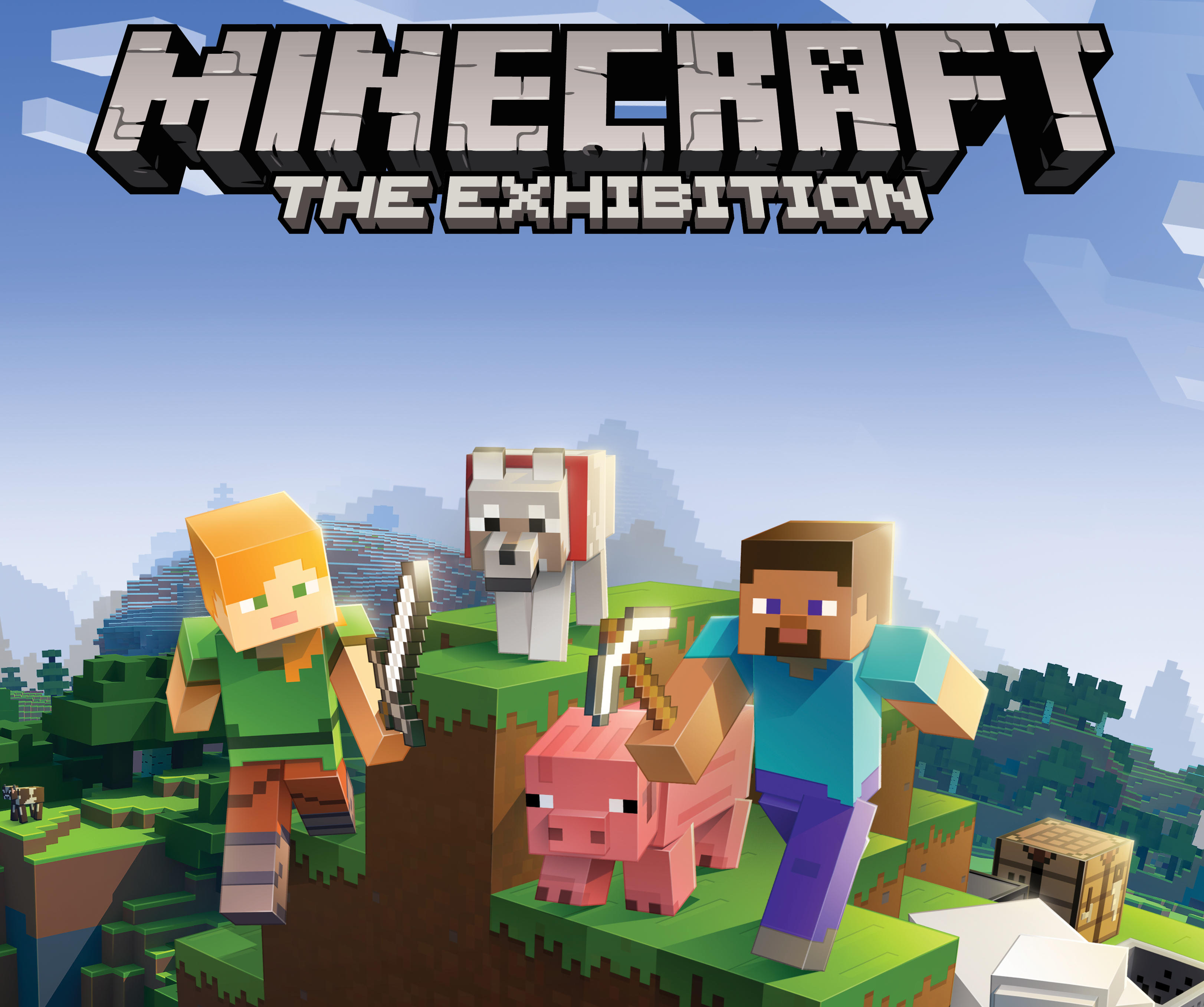 Block by block, ambitious new 'Minecraft: The Exhibition