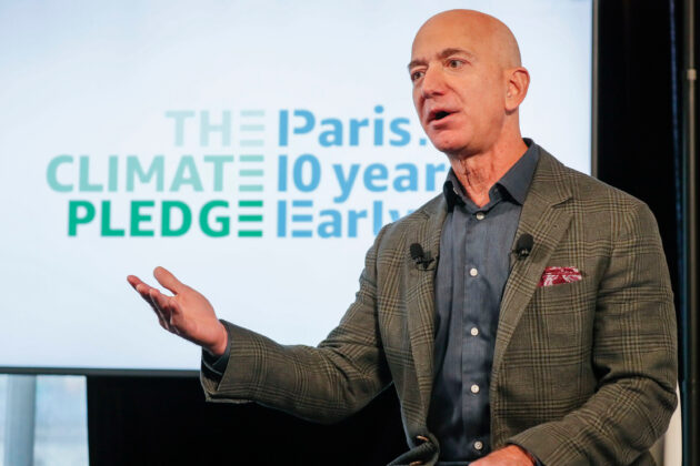 Jeff Bezos unveils sweeping plan to tackle climate change CNBC