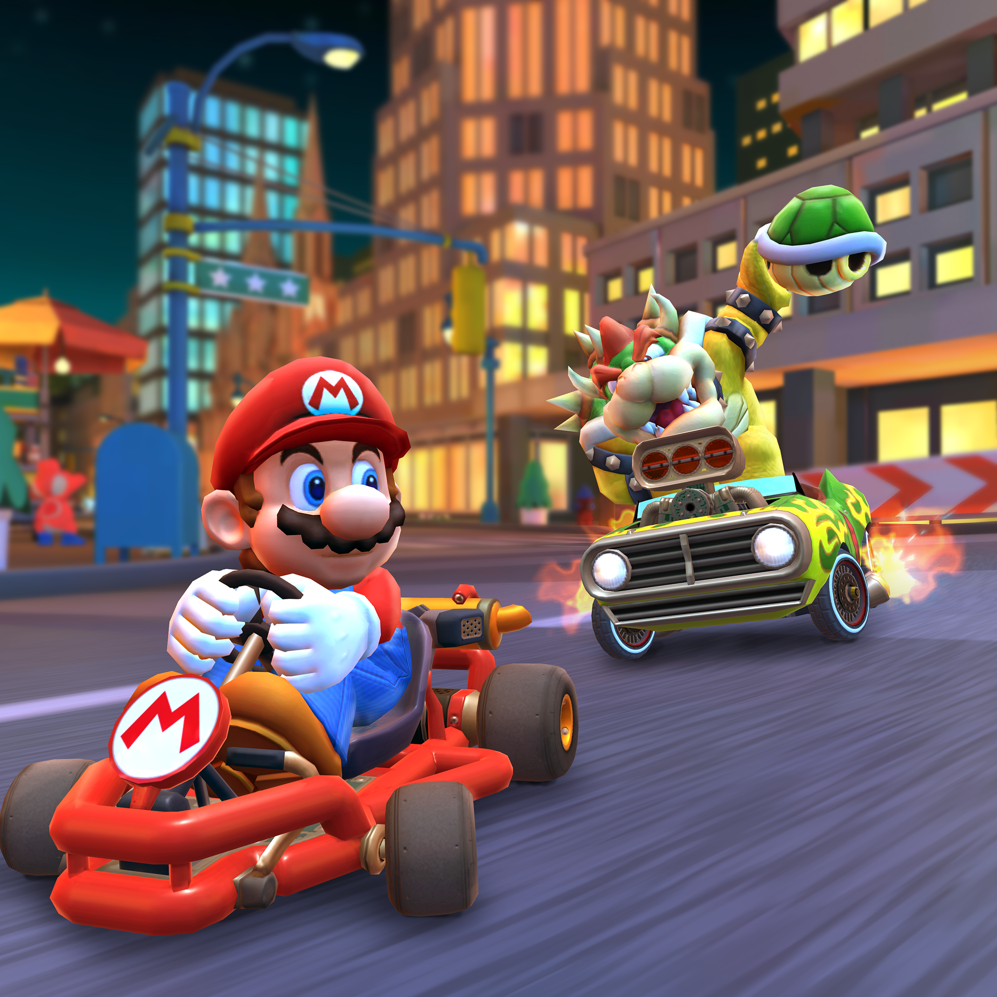 Review Mario Kart Tour Is A Simple Fun Racing Game With A Troubling Monetization Platform Geekwire
