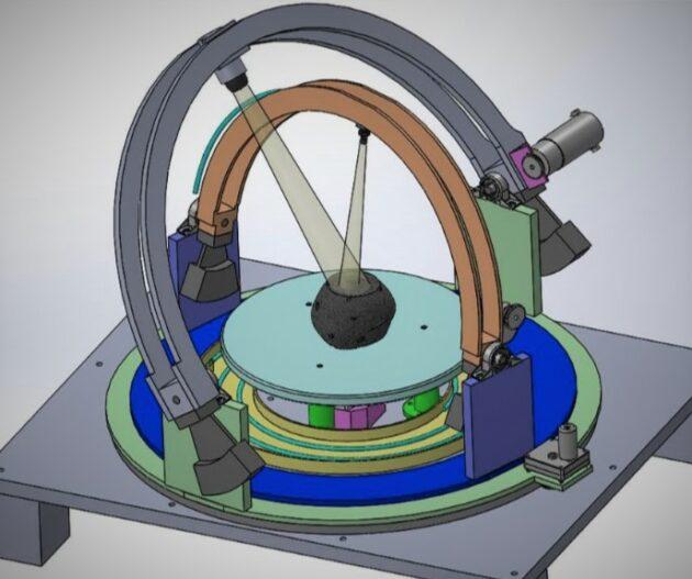 First Mode et la WWU remportent le prix de la NASA pour créer un outil pour la géologie martienne – Newstrotteur 191003 goniometer 630x527