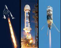 SpaceShipTwo / New Shepard / Masten