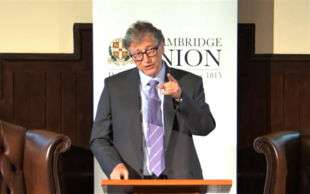 Bill Gates at Cambridge Union