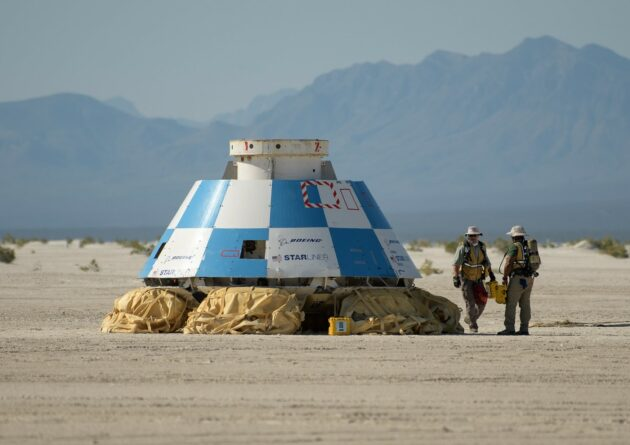 NASA confirms Boeing's timetable for putting Starliner space taxi through final tests