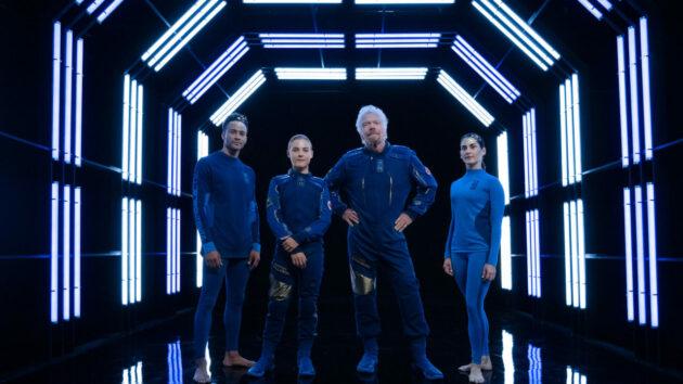 Virgin Galactic / Under Armour spacewear