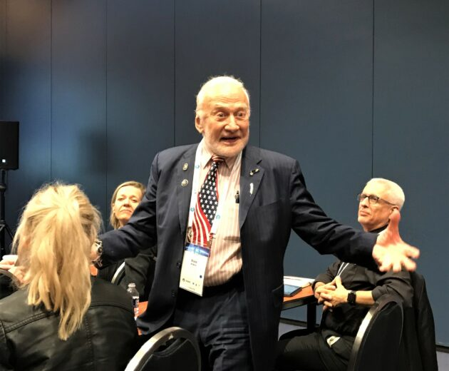 Buzz Aldrin shares latest moonshot vision: No to NASA's Gateway, but yes to China
