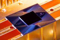Sycamore quantum processing chip