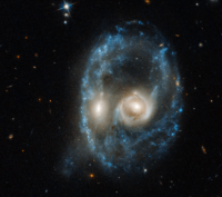 AM 2026-424 merged galaxy
