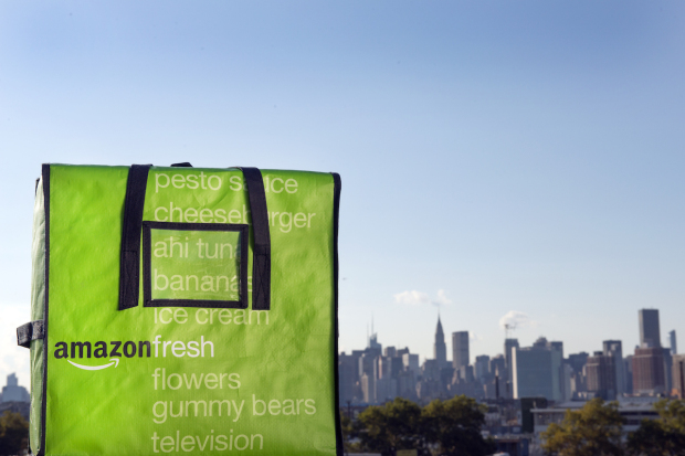 Amazon adds free grocery delivery to $119-a-year Prime membership program