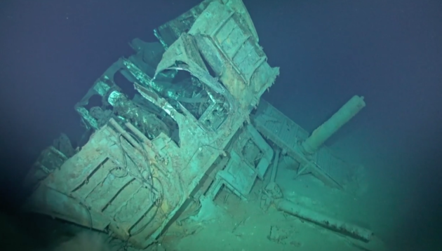 WWII destroyer located by Paul Allen's research vessel is deepest shipwreck ever discovered 1