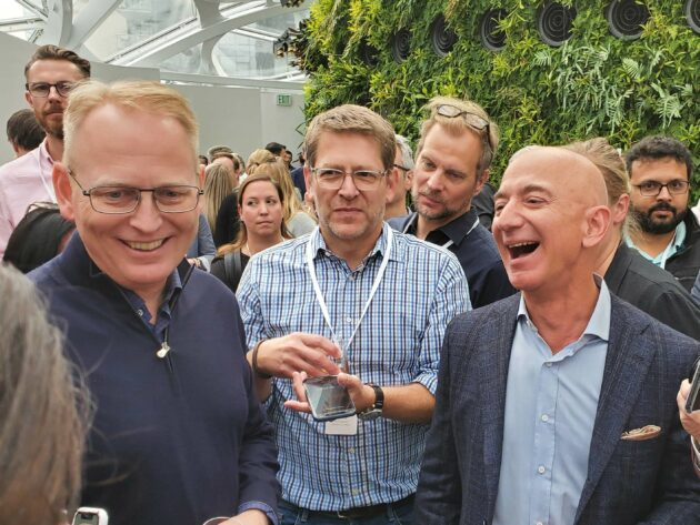 Amazon expands Bezos' elite 'S-team,' adding 6 execs from emerging branches of the company