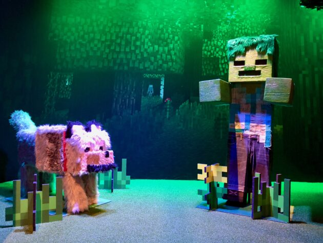 Inside Mopops Minecraft Fans Of Hit Video Game Will Dig