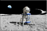 Lego Blue Moon lander
