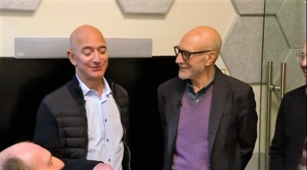 Who's the best Star Trek captain? Alexa agrees with Jeff Bezos when Picard drops in on Amazon HQ