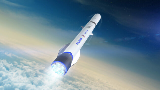 GAO sides with Blue Origin in dispute over Air Force's launch services competition