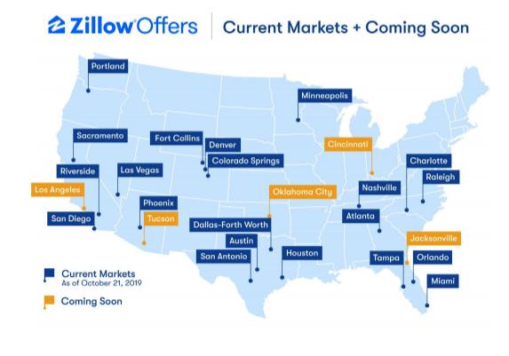 Le stock du groupe Zillow grimpe de 12% alors que le chiffre d'affaires du troisième trimestre dépasse les 745 M $ suite à la rapide expansion des offres de Zillow – Newstrotteur Screen Shot 2019 11 07 at 12