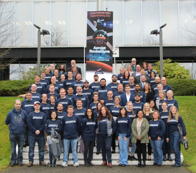 Aerojet Rocketdyne Orion team in Redmond