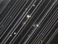Starlink trails