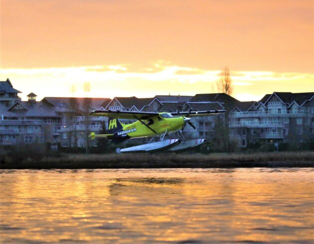 Harbour Air's all-electric seaplane makes its first flight, sparking a quiet buzz in B.C.