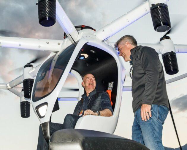 Jeff Bezos and Matt Chasen