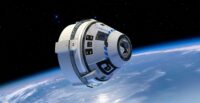 Starliner in orbit