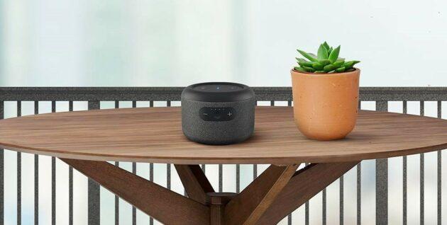 Amazon présente le haut-parleur intelligent portable Echo en Inde avec 11 heures d'autonomie – Newstrotteur 614Ce30fuNL