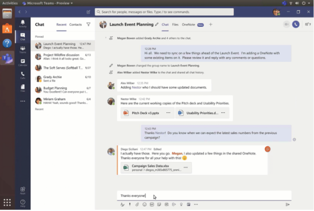 Microsoft Teams for Linux Officially Released, Available to Download Now