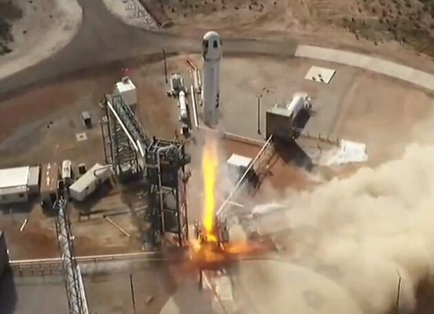 Blue Origin moves closer to human spaceflight with 12th New Shepard launch