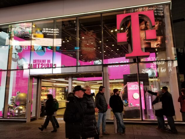 T-Mobile says it is now the nation's No. 2 wireless provider, passing AT&T