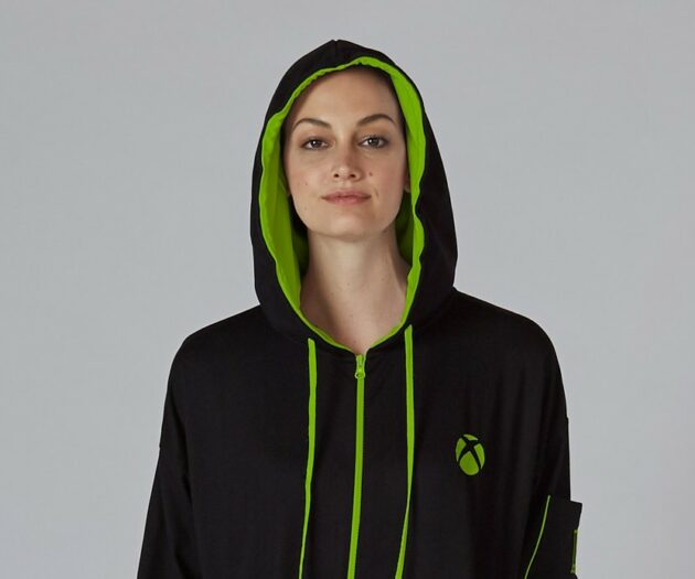 Microsoft's 'Xbox Onesie' is back — in black with green trim — to comfort gamers for the holidays