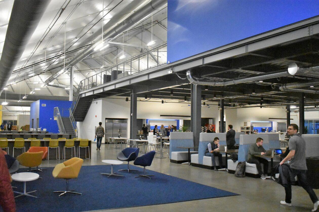 Blue Origin interior
