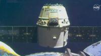 SpaceX Dragon cargo ship