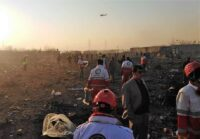 737 crash site in Iran