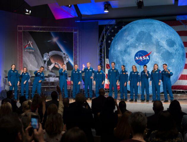 Astronaut graduates