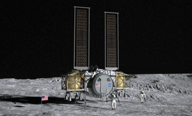 Dynetics lunar lander concept