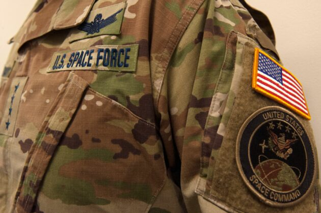 Space Force flies through Twitter flak after unveiling camo uniforms in earthy tones