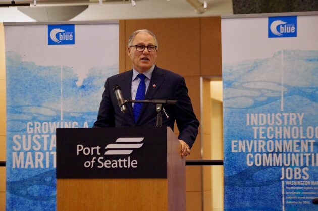 Gov. Inslee helps launch Washington's first maritime startup accelerator in Seattle