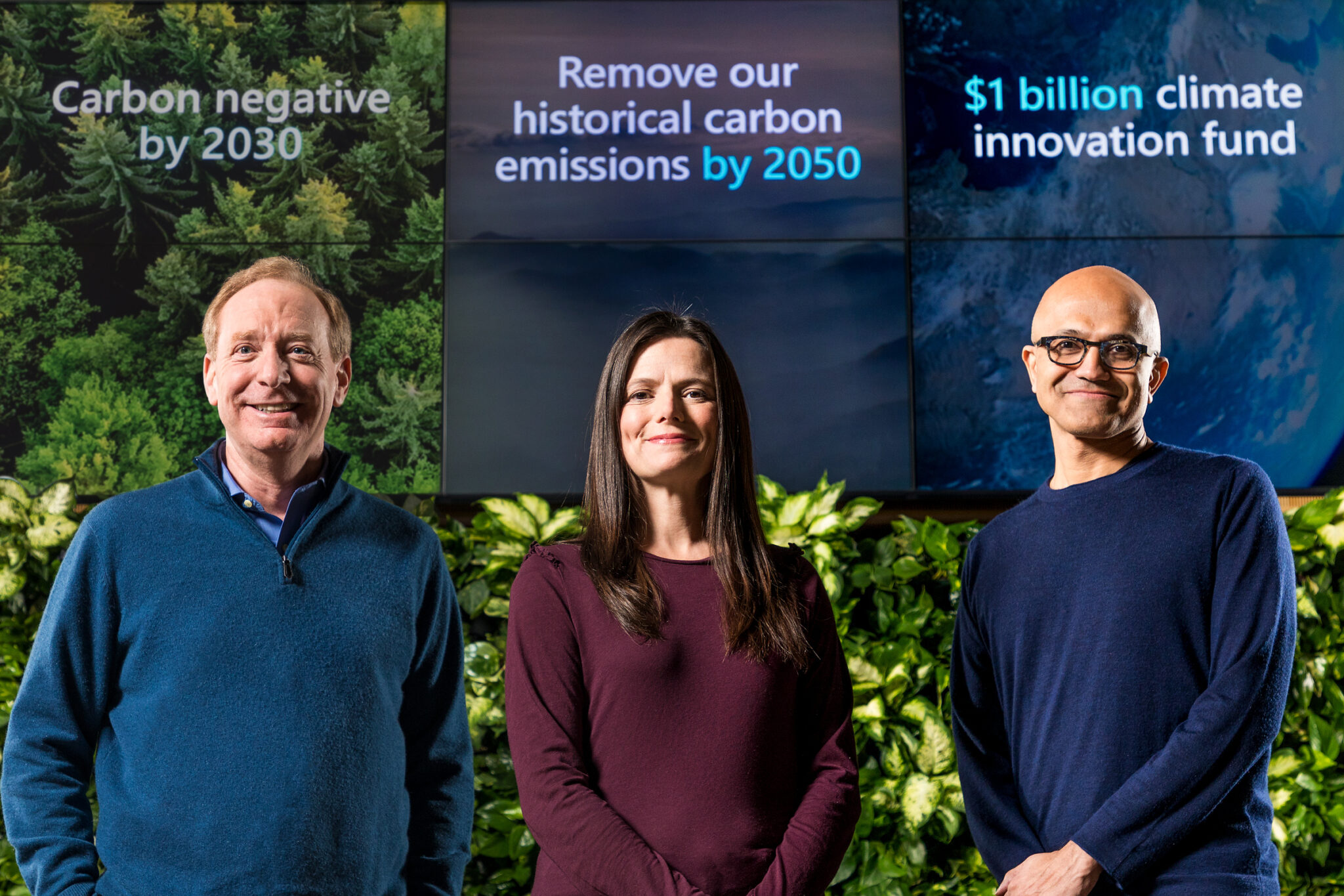 Microsoft president says support of SEC climate disclosure rules goes beyond its own business