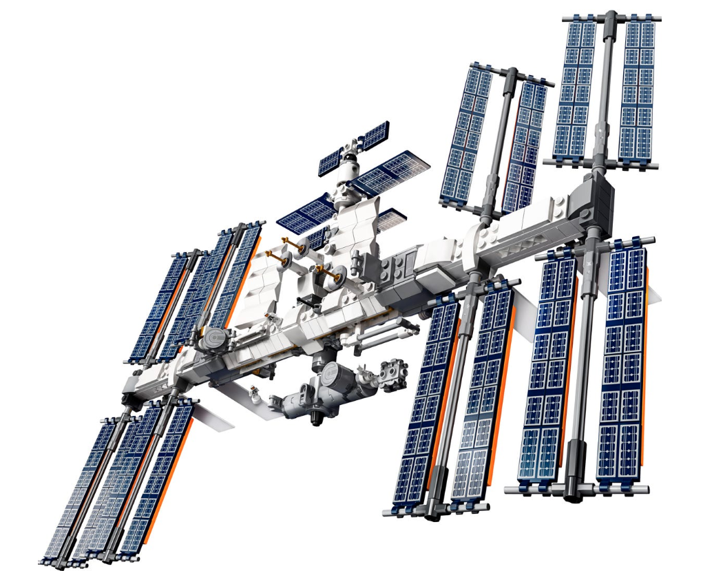 Lego celebrates 20 years of the International Space Station with an out-of-this-world new model