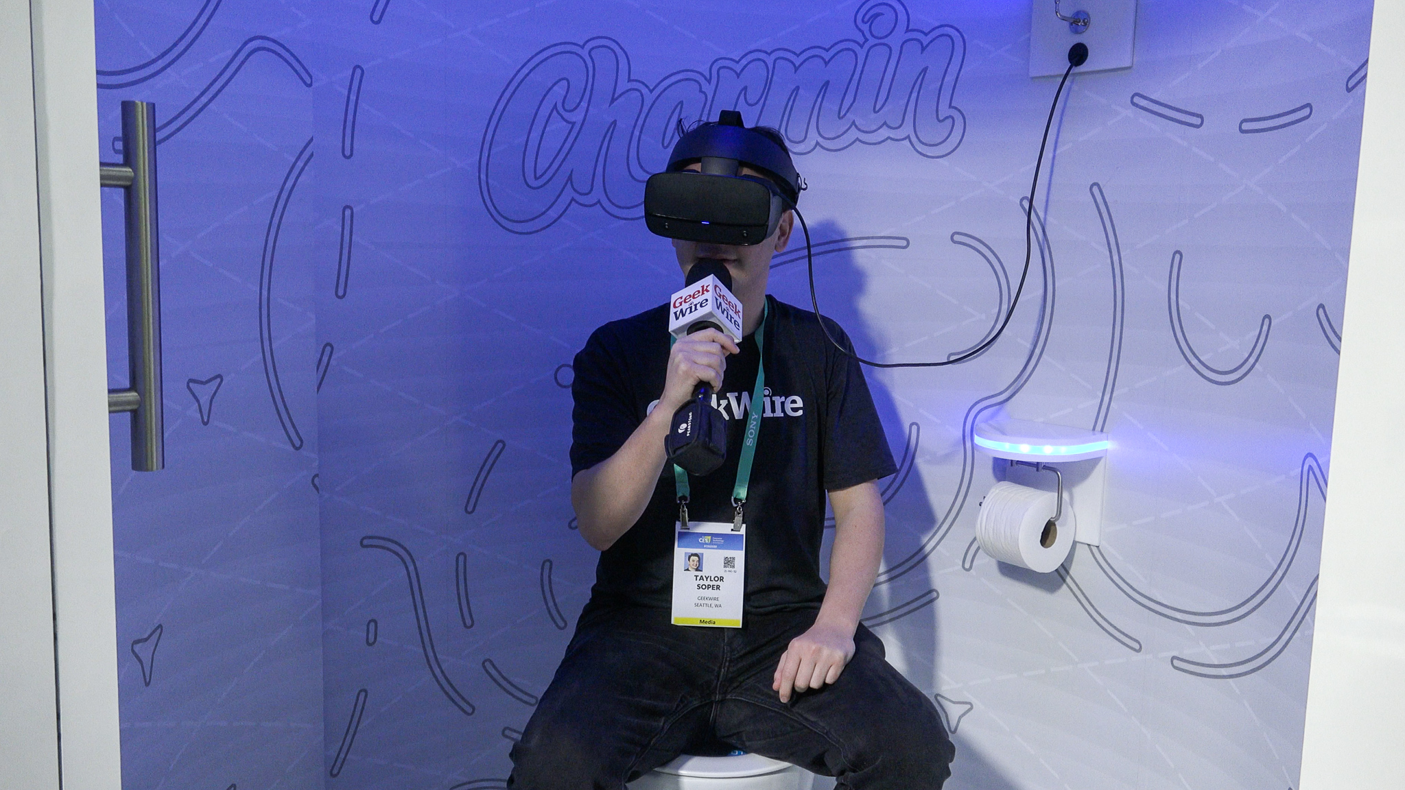 A glimpse of the future at CES: Celebs, parallel reality, and next-gen toilets at the big tech show