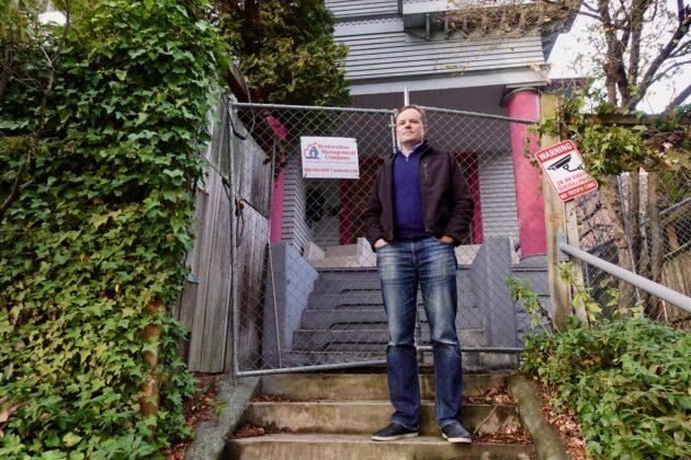 Seattle 'hacker house' founder battling UW after broken pipe sinks startup enclave