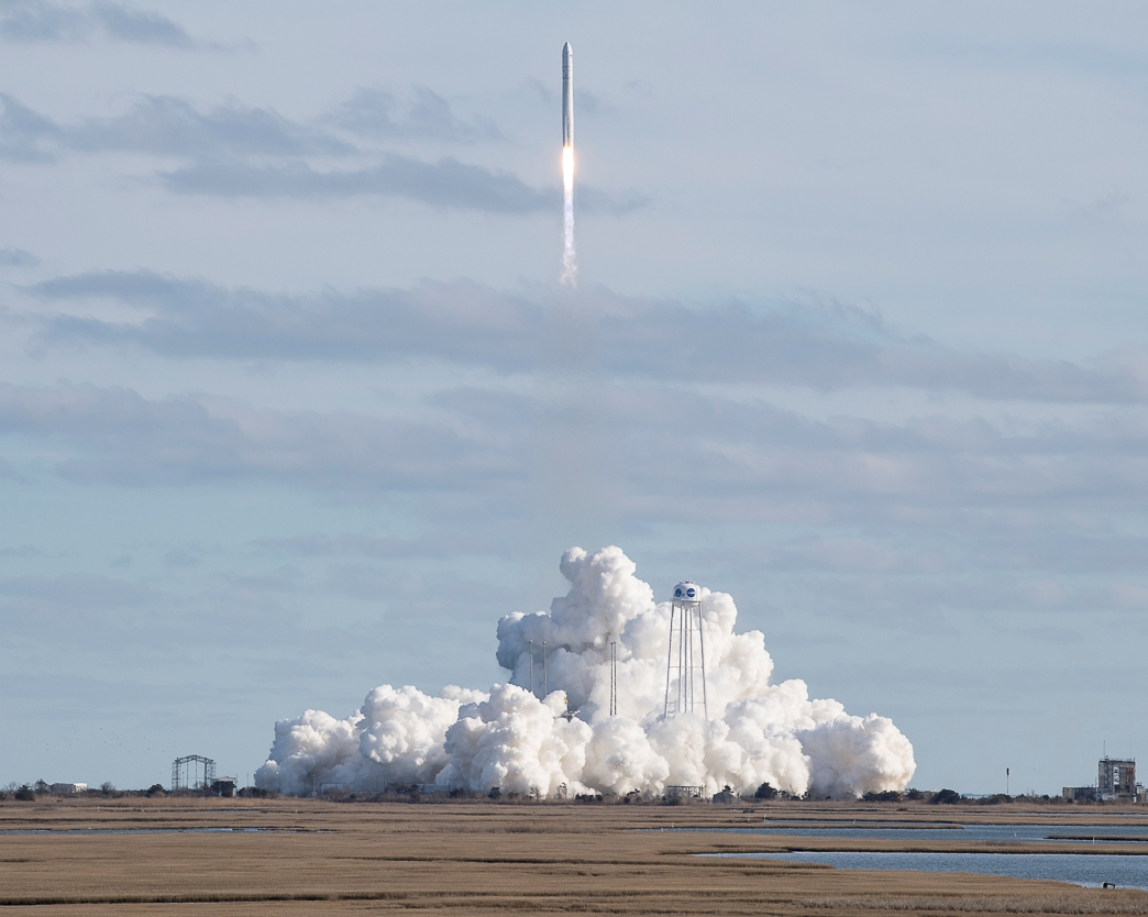 Third time's the charm: Cygnus cargo ship finally gets launched to the space station