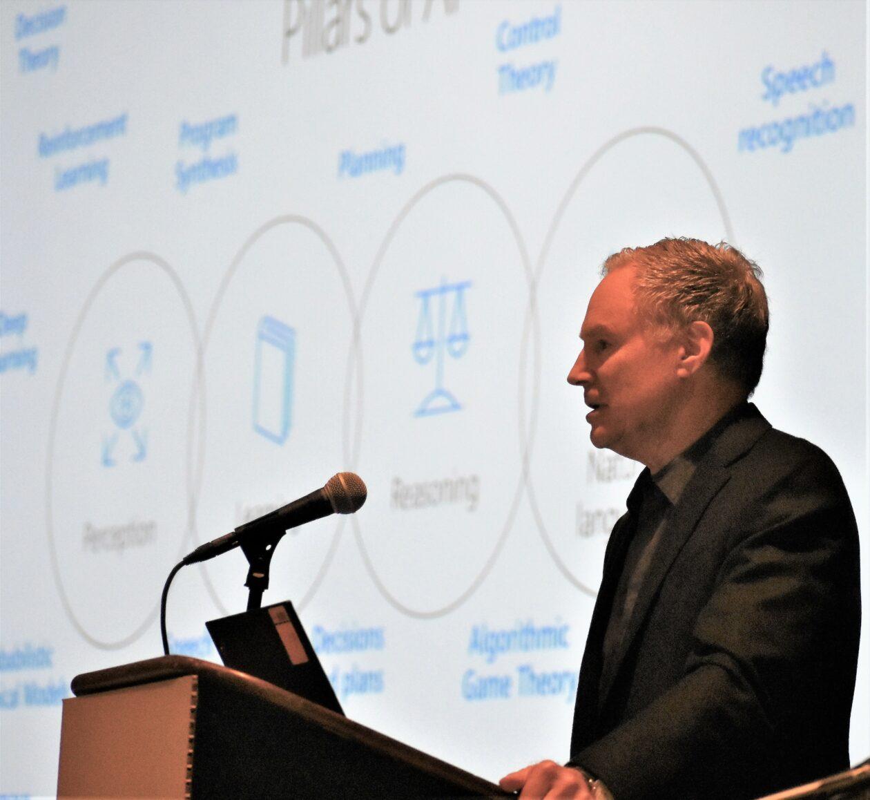 AI vs. humans? Microsoft's Eric Horvitz sees the future as AI-human partnership