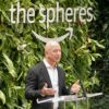 Jeff Bezos at Amazon Spheres