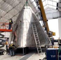 Starship nose cone