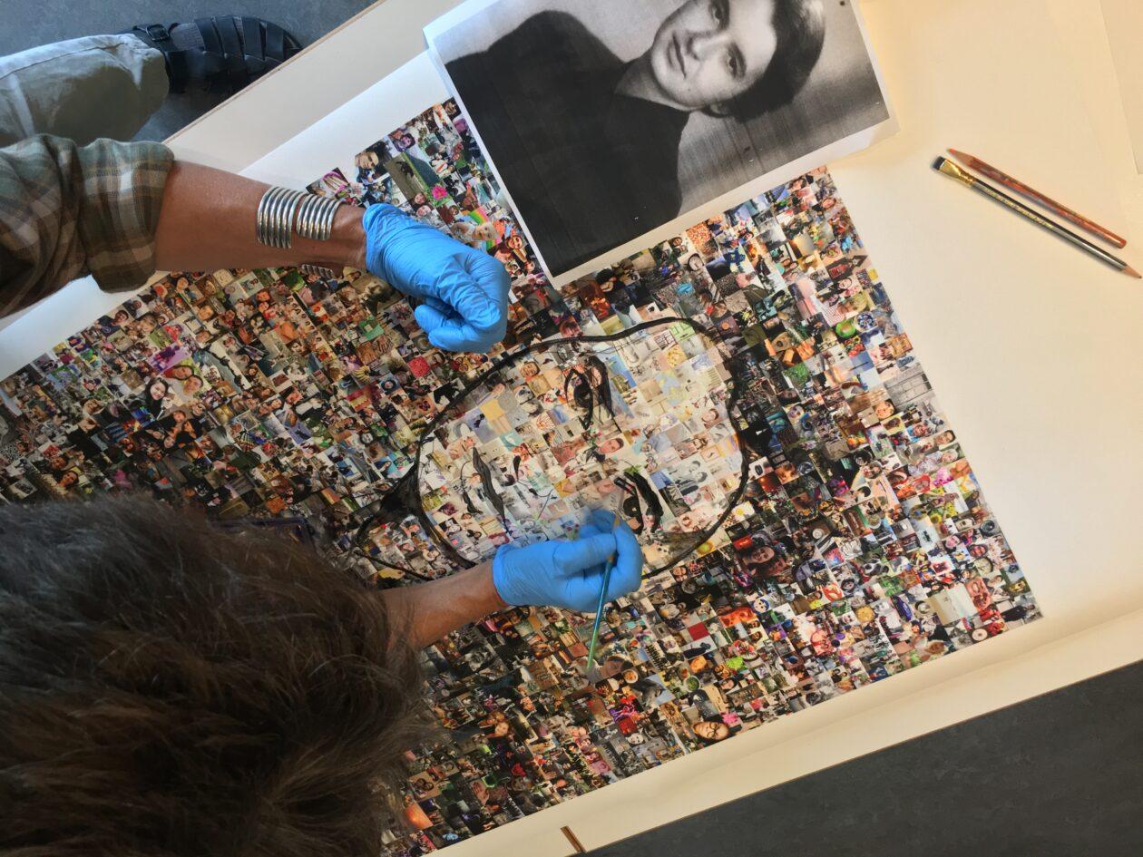 Rosalind Franklin in DNA