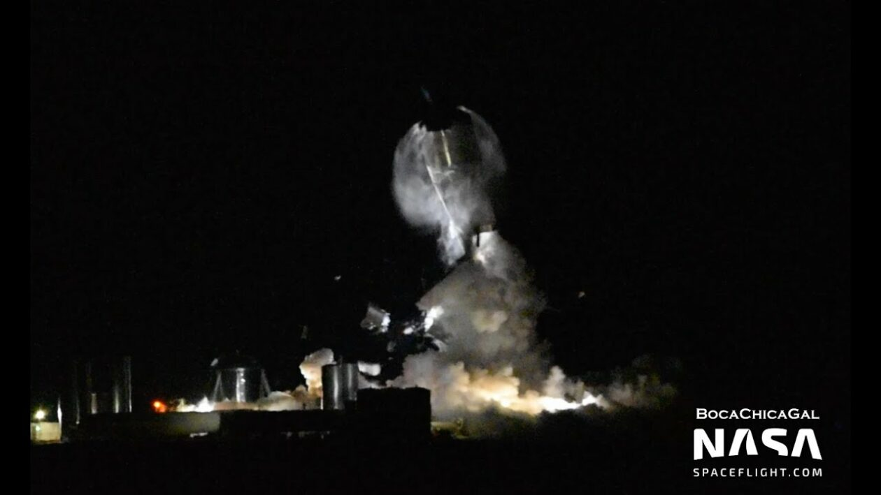 SpaceX's Starship SN1 prototype blows up during pressure test on its Texas pad