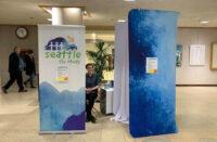 Seattle Flu Study kiosk