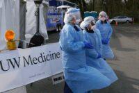 UW Medicine testing station