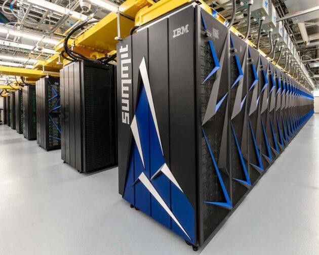 Oak Ridge Summit supercomputer